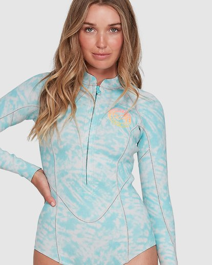 3 Salty Dayz Long Sleeve Springsuit Blue 6704502 Billabong
