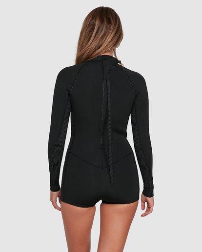 2 Spring Fever Springsuit Wetsuit Black 6704503 Billabong