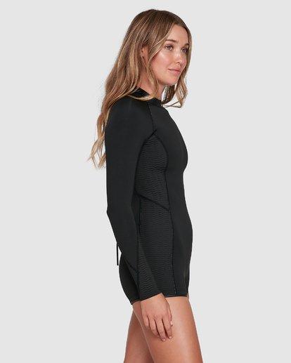 1 Spring Fever Springsuit Wetsuit Black 6704503 Billabong
