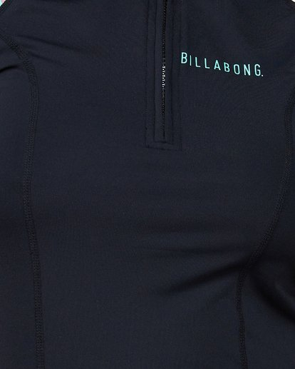 3 Oasis Short Sleeve Rashguard Black 6707001 Billabong