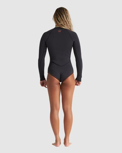 1 Eco Salty Dayz 2MM Long Sleeve Springsuit Black 6707502X Billabong