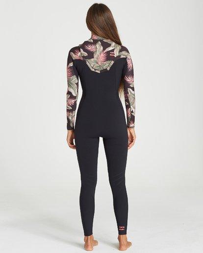 1 302 Womens Furnace Comp Chest Zip Full Suit Black 6707891 Billabong