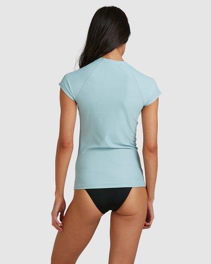 2 Serenity Short Sleeve Rashie Blue 6713006 Billabong
