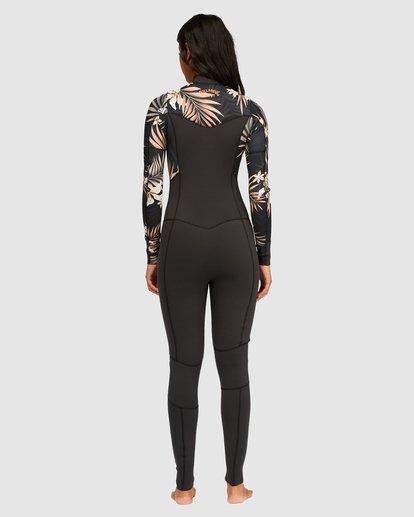 2 3/2 Salty Dayz Full Wetsuit Black 6713830 Billabong