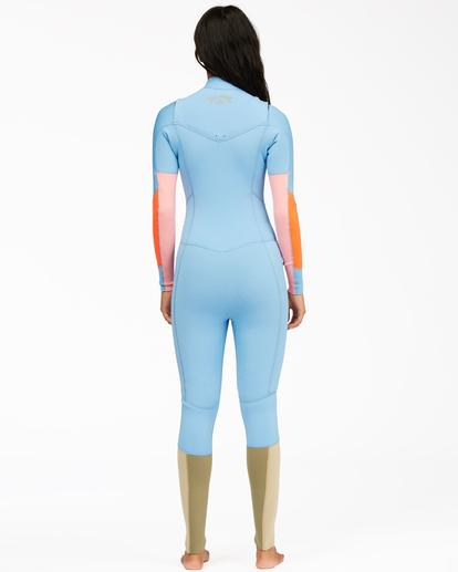 2 3/2 Salty Dayz Full Wetsuit Red 6713830 Billabong