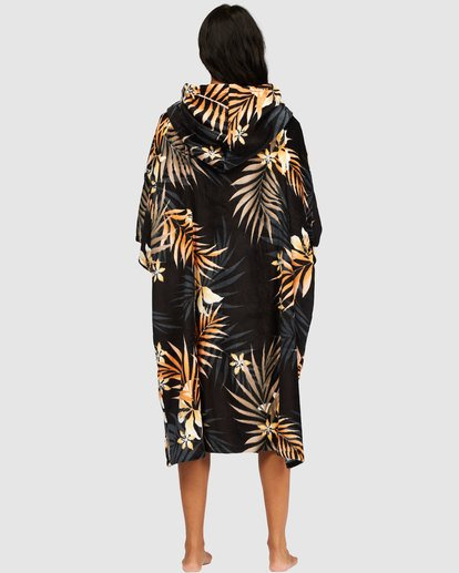 1 Women's Hooded Towel Black 6717270 Billabong