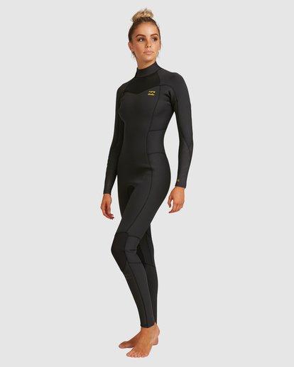 1 3/2 Synergy Back Zip Gbs Fullsuit Black 6717810 Billabong