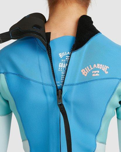 5 3/2 Synergy Back Zip Steamer Wetsuit Blue 6717810 Billabong