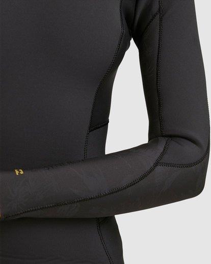 4 4/3 Synergy Back Zip Gbs Fullsuit Black 6717816 Billabong