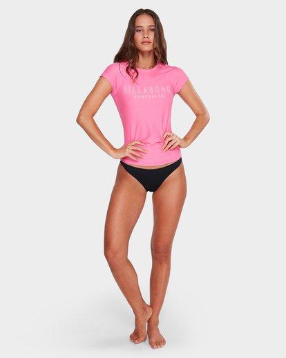 4 Mighty Fine Rash Vest Pink 6781001 Billabong