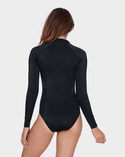 2 SUNDAY FUNDAY LONG SLEEVE RASH VEST Black 6781004 Billabong