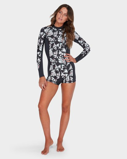 3 SPRING FEVER 2MM LONG SLEEVE SUIT Black 6782504 Billabong