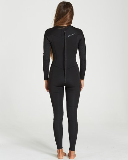 1 302 Furnace Synergy Back Zip Gbs Full Suit Black 6791810 Billabong