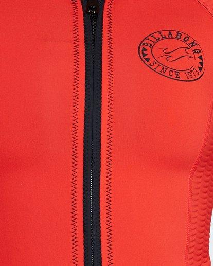 4 Peeky Jacket - 1Mm Long Sleeve Orange 6792120 Billabong