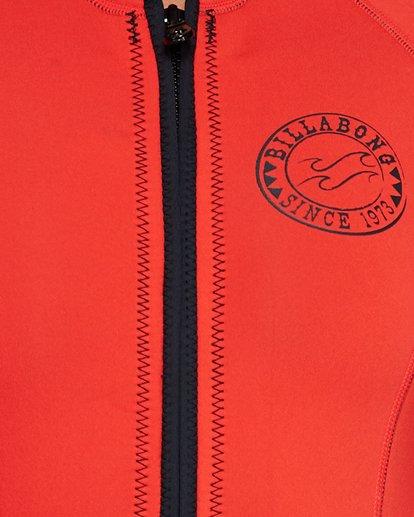 3 Salty Dayz 2Mm Long Sleeve Spring Orange 6792500 Billabong