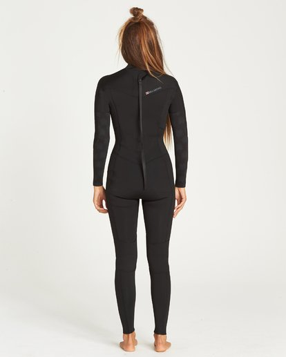 2 302 LADIES FURNACE SYNERGY BACK ZIP GBS FULLSUIT Black 6795810 Billabong