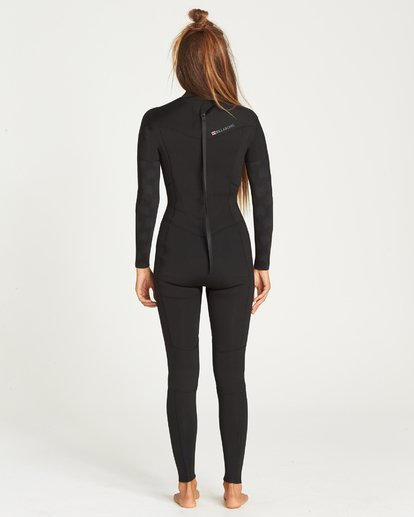 2 Furnace Synergy Back Zip Full Suit Black 6795816 Billabong