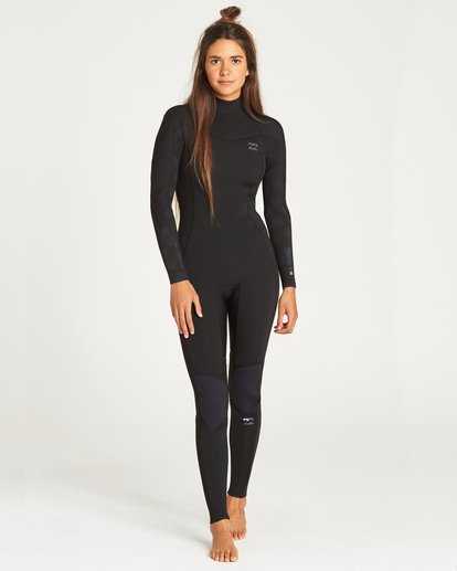 0 Furnace Synergy Back Zip Full Suit Black 6795816 Billabong