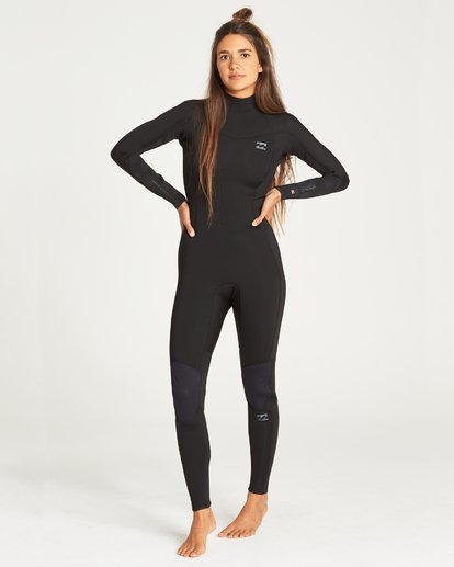 1 FURNACE SYNERGY BACK ZIP FULL SUIT Black 6795816 Billabong