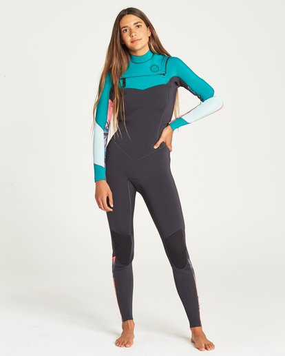 0 SALTY DAYZ 3/2 FULLSUIT Green 6795830 Billabong