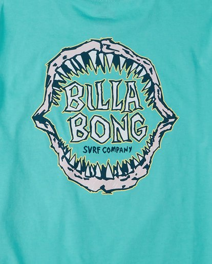 6 Groms Jaw Short Sleeve Tee Blue 7503000 Billabong