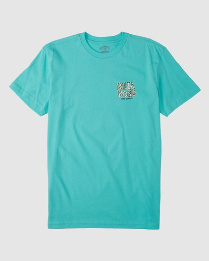 4 Groms Jaw Short Sleeve Tee Blue 7503000 Billabong