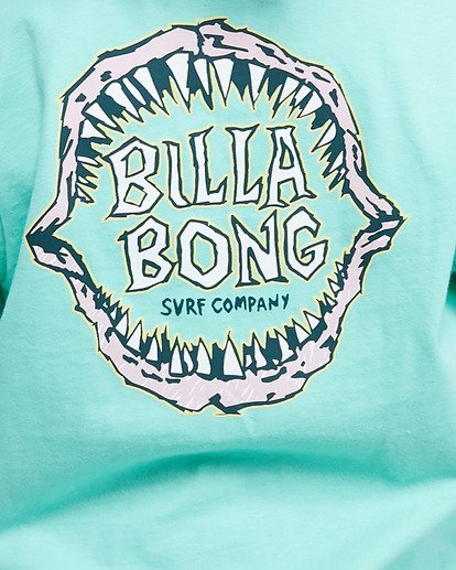 3 Groms Jaw Short Sleeve Tee Blue 7503000 Billabong
