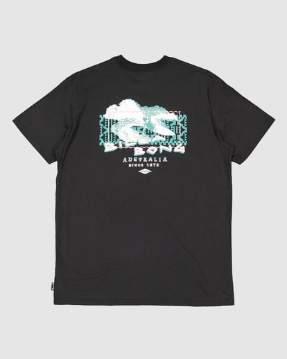 5 Groms Slasher Short Sleeve Tee Black 7503018 Billabong