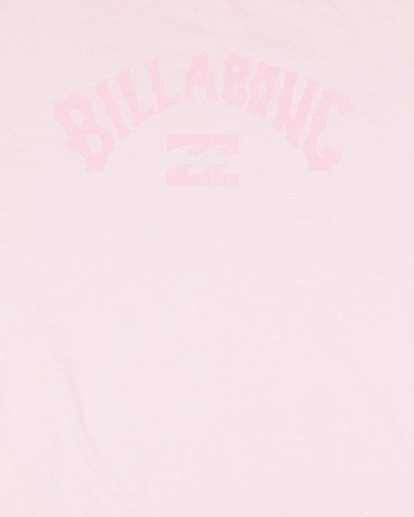 5 Groms Arch Overdye Short Sleeve Tee Pink 7503029 Billabong