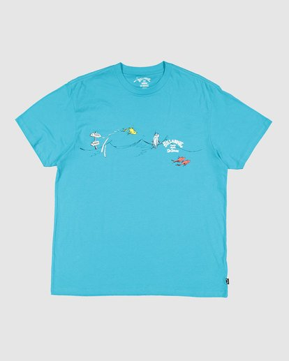 0 Dr. Seuss Kids One Fish Two Fish Tee Blue 7503080 Billabong