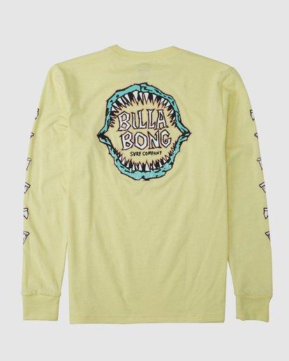 5 Groms Jaws Long Sleeve Yellow 7503710 Billabong