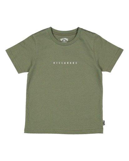 3 Boys 0-7 Smitdog Short Sleeve Tee Green 7504032 Billabong