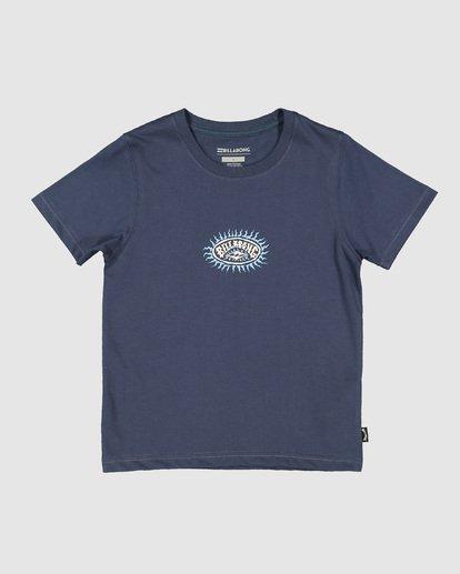 2 Groms Sunny Short Sleeve Tee Blue 7507002 Billabong