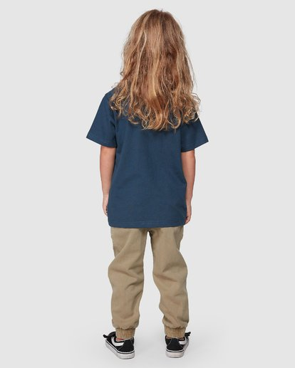 1 Groms Sunny Short Sleeve Tee Blue 7507002 Billabong