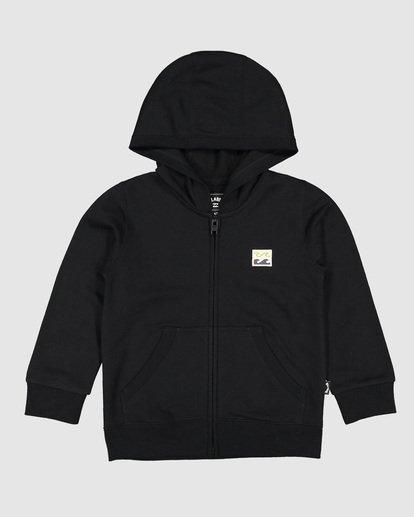 2 Groms Full Froth Hoodie Black 7507601 Billabong