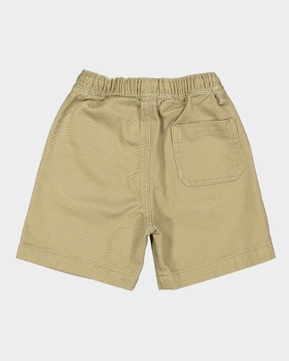 4 Groms Larry Twill Walkshorts Grey 7507733 Billabong