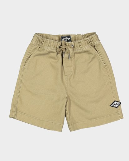 3 Groms Larry Twill Walkshorts Grey 7507733 Billabong