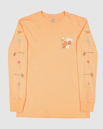 1 Dr. Seuss Lorax Long Sleeve Tee Orange 7508140 Billabong