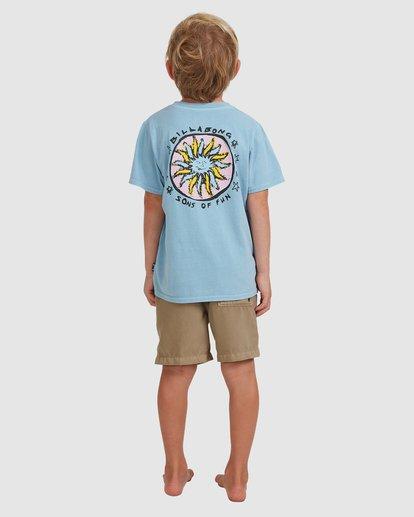 2 Boys 0-7 Sons Of Fun Tee Blue 7513004 Billabong
