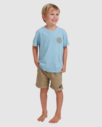 0 Boys 0-7 Sons Of Fun Tee Blue 7513004 Billabong