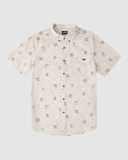 3 Boys' (2-7) Sundays Mini Short Sleeve Shirt Beige 7513210 Billabong