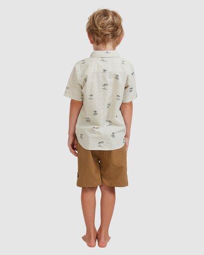 2 Boys' (2-7) Sundays Mini Short Sleeve Shirt Beige 7513210 Billabong