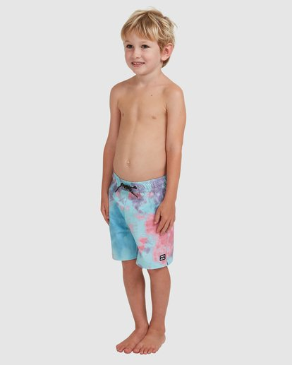 1 Boys 0-7 Sundays Layback Boardshorts Grey 7513425 Billabong