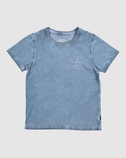 3 GROMS WAVY DAVY TEE Blue 7517008 Billabong