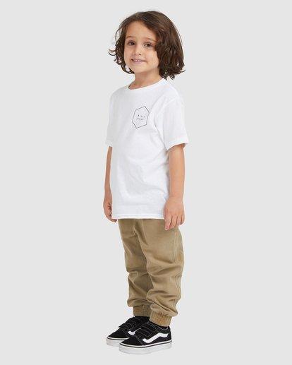 1 KIDS ACCESS BOARDER SS White 7517020 Billabong