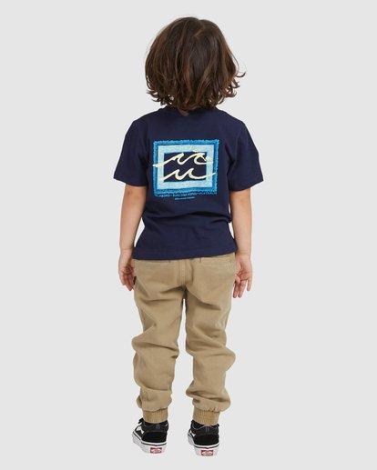 2 BOYS BUNYIP SS Blue 7517025 Billabong