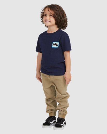 1 BOYS BUNYIP SS Blue 7517025 Billabong