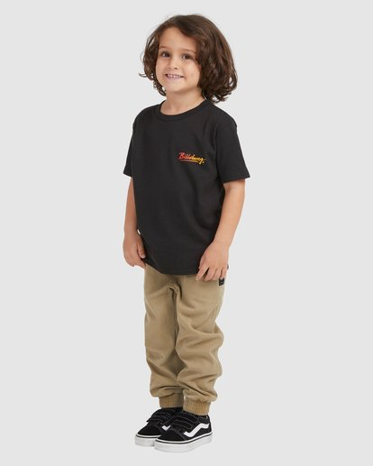 1 KIDS HAND LOOSE SS Black 7517026 Billabong