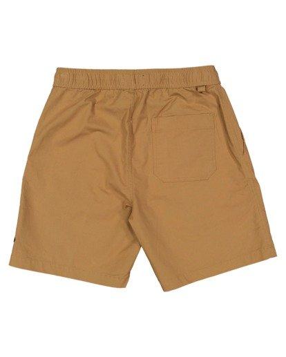 4 Boys 0-7 Layback Solid Shorts Beige 7517452 Billabong