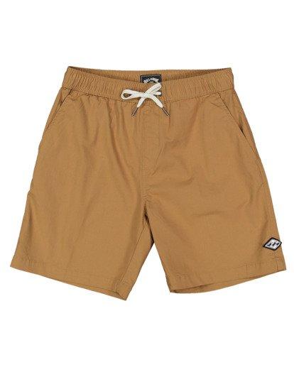 3 Boys 0-7 Layback Solid Shorts Beige 7517452 Billabong